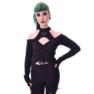 tričko dámské s dlouhým rukávem Poizen Industries - LAKE - BLACK, POIZEN INDUSTRIES