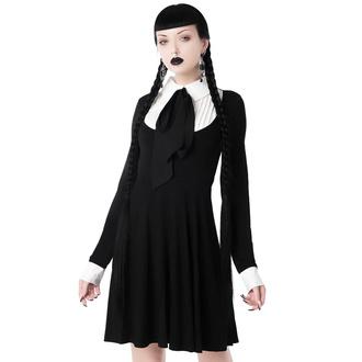 šaty dámské s dlouhým rukávem KILLSTAR - Lana Ribbon - KSRA002188