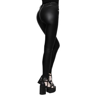 kalhoty dámské KILLSTAR - Larissa Coated, KILLSTAR