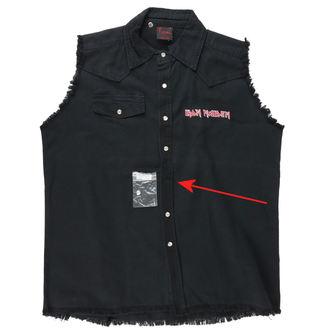 košile pánská bez rukávů (vesta) Iron Maiden - The Trooper - POŠKOZENÁ, RAZAMATAZ, Iron Maiden