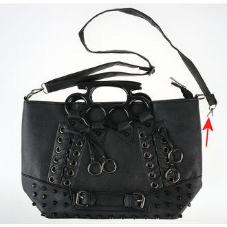 kabelka (taška) VIXXSIN - SASHA - BLACK - POŠKOZENÁ, VIXXSIN