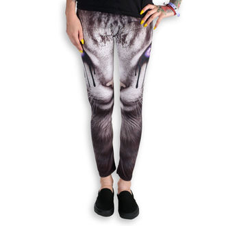 kalhoty dámské (leginy) SPIRAL - CAT'S TEARS - Black - D070G456