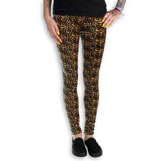 kalhoty dámské (legíny) BURLESKA - Leopard - LEO2