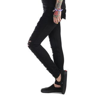 kalhoty dámské (jeans) PUNK RAVE - Destroyer, PUNK RAVE