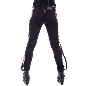 kalhoty dámské Vixxsin - LEVANT - BLACK, VIXXSIN
