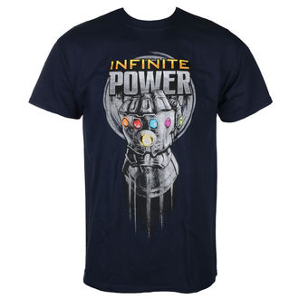 tričko pánské AVENGERS - INFINITY WAR - INFINITE POWER GLOVE - NAVY - LIVE NATION, LIVE NATION