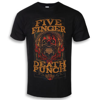 tričko pánské Five Finger Death Punch - Wanted - ROCK OFF, ROCK OFF, Five Finger Death Punch
