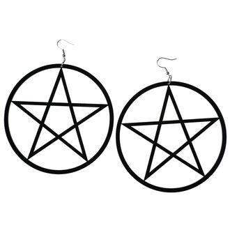 náušnice Luciferothica - Huge Pentagram, LUCIFEROTHICA