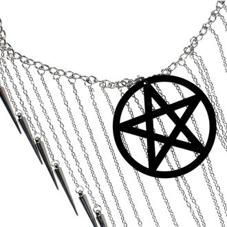 obojek Luciferothica - Pentagram Black, LUCIFEROTHICA