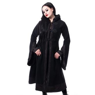 kabát dámský Poizen Industries - LUELLA - BLACK, POIZEN INDUSTRIES