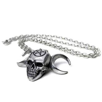 obojek ALCHEMY GOTHIC - Triunity Skull - Pewter, ALCHEMY GOTHIC