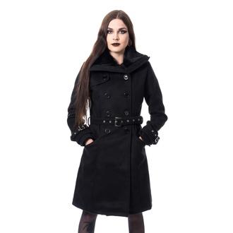 kabát dámský Poizen Industries - LUTANA - BLACK - POI948