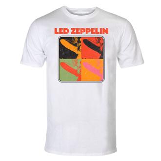 tričko pánské Led Zeppelin - LZ1 Pop Art - White, NNM, Led Zeppelin
