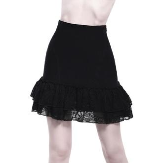 sukně dámská KILLSTAR - Adoria Bustle - BLACK - KSRA001667
