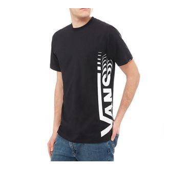 tričko pánské VANS - DISTORTED SS - Black, VANS