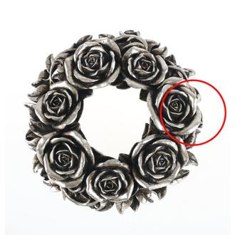svícen (dekorace) ALCHEMY GOTHIC - Black Rose - V65 - POŠKOZENÝ - MA483