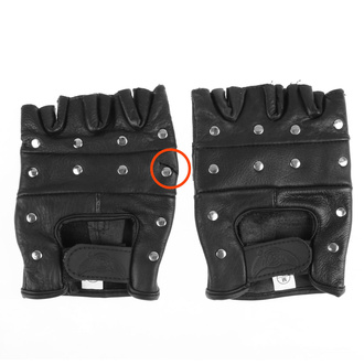 rukavice kožené OSX - DEMON - AC08 - POŠKOZENÉ - MA496