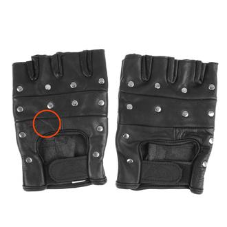 rukavice kožené OSX - DEMON - AC08 - POŠKOZENÉ - MA497