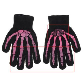 rukavice POIZEN INDUSTRIES - BGG - Blk/Pink - POI675 - POŠKOZENÉ - MA500