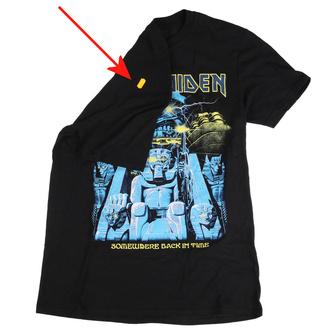 tričko pánské Iron Maiden - Back In Time Mummy - ROCK OFF - IMTEE81MB - POŠKOZENÉ - MA504