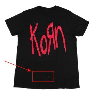 tričko pánské Korn - Logo - MC222 - POŠKOZENÉ - MA509