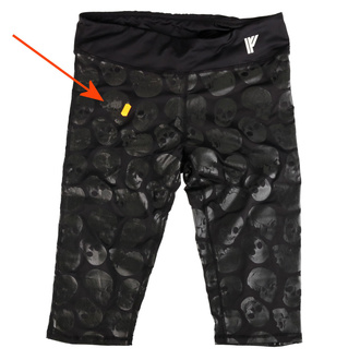 kalhoty dámské (legíny) IRON FIST - Skullz Club - IAW004583 - POŠKOZENÉ - MA512