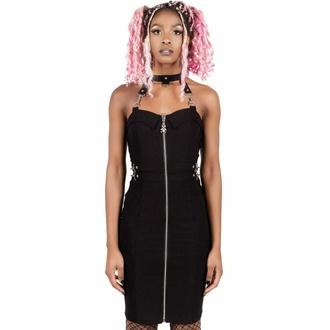 šaty dámské KILLSTAR - Man Eater - BLACK - KSRA002927