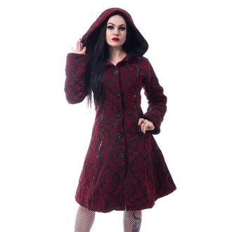 kabát dámský Poizen Industries - MANSION - RED - POI837