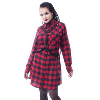 šaty dámské VIXXSIN - MASTER - RED CHECK, VIXXSIN