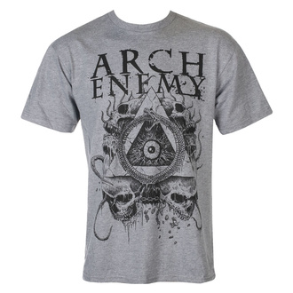tričko pánské Arch Enemy - Pyramid - grey - ART WORX, ART WORX, Arch Enemy