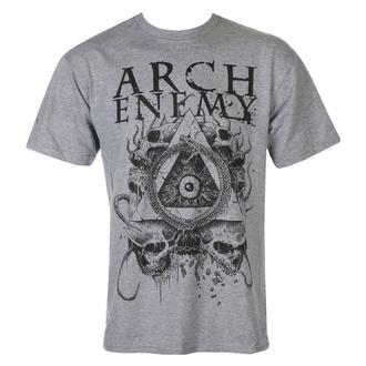 tričko pánské Arch Enemy - Pyramid - grey - MER035