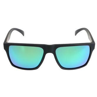 brýle sluneční MEATFLY - TRIGGER D 4/17/55 - BLACK GREEN, MEATFLY