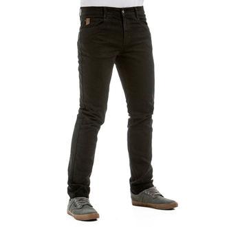 kalhoty pánské (jeans) MEATFLY - Riot 2, Spirit Jeans - 1/7/55, A,C - Black, MEATFLY