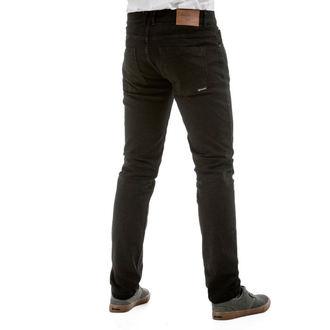 kalhoty pánské (jeans) MEATFLY - Riot 2 - 1/7/55, A - Black, MEATFLY