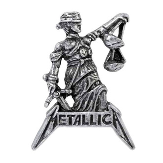 připínáček ALCHEMY GOTHIC - Metallica - Justice For All - PC513