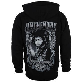 mikina pánská Jimi Hendrix - HENDRIX AUTHENTC - BLK - BRAVADO, BRAVADO, Jimi Hendrix