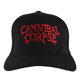 kšiltovka CANNIBAL CORPSE - RED - JSR, Just Say Rock, Cannibal Corpse