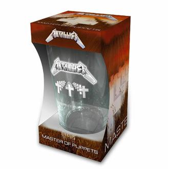 sklenice METALLICA - MASTER OF PUPPETS - RAZAMATAZ, RAZAMATAZ, Metallica