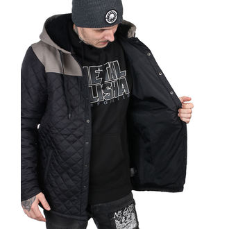 bunda pánská METAL MULISHA - TREAD QUILTED - MM3851000.01_BLK
