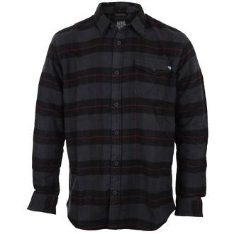 košile pánská METAL MULISHA - RIPPER L/S FLANNEL B - BLK_FA7504003.01