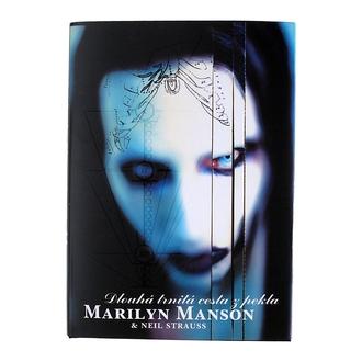 kniha Marilyn Manson Dlouhá trnitá cesta z pekla, M.Manson a N. Strauss, Marilyn Manson