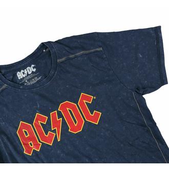 tričko pánské AC/DC - Logo - Snow Wash - ROCK OFF, ROCK OFF, AC-DC