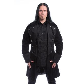 kabát pánský POIZEN INDUSTRIES - MONARCH - BLACK VELVET, POIZEN INDUSTRIES