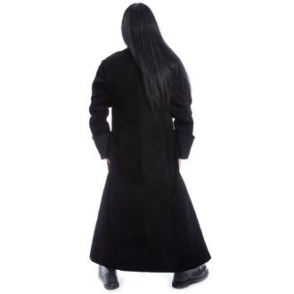 kabát pánský POIZEN INDUSTRIES - MONARCH X - BLACK VELVET, POIZEN INDUSTRIES