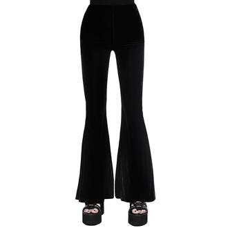 kalhoty dámské KILLSTAR - Moondance Bell - BLACK, KILLSTAR