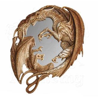 zrcátko (dekorace) ALCHEMY GOTHIC - Dragon Wall