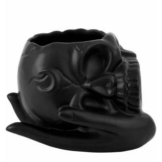 dekorace (miska) KILLSTAR - Mortal Coil Skull - Black - KSRA004526