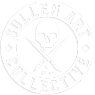 nálepka (velká) SULLEN - BOH DIE CUT STICKER 6 IN - WHITE, SULLEN