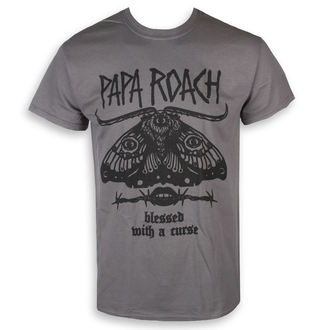 tričko pánské Papa Roach - Blessed Curse - Charcoal - KINGS ROAD, KINGS ROAD, Papa Roach