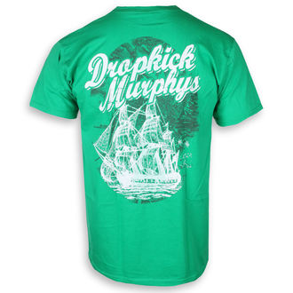 tričko pánské Dropkick Murphys - Scally Skull Ship - Irish Green - KINGS ROAD, KINGS ROAD, Dropkick Murphys